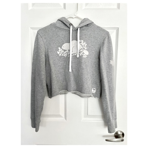 Roots Limited Edition Cropped Hoodie, Size S